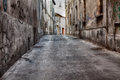 Narrow Alley Royalty Free Stock Photo - 31315005