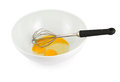 Yolk And Protein In A Bowl With Egg Beater Royalty Free Stock Photos - 31324018