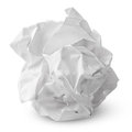 Crumpled Paper Ball Royalty Free Stock Image - 31327056