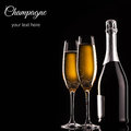 Bottle Of Champagne Royalty Free Stock Photo - 31341995