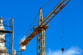 Crane On The Reconstruction Royalty Free Stock Image - 31343276