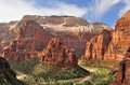 Zion Canyon And The Virgin River Royalty Free Stock Photography - 31347737