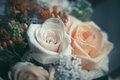 Bouquet Of Roses Royalty Free Stock Photography - 31352127
