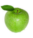 Fresh And Wet Green Apple Royalty Free Stock Photography - 31353097