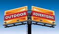 Outdoor Advertising Stock Image - 31357811