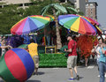 Colorful Floats Of Indy Pride Parade Stock Image - 31374341