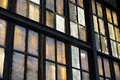 Colorful Windows In Abandoned Factory Royalty Free Stock Photos - 31374828