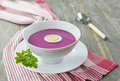 Cold  Red Beet Soup Stock Image - 31377561