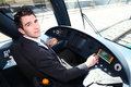 Man Driving A Tram Stock Photography - 31383002