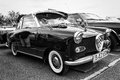 Micro Car Goggomobil TS 250 Coupe (black And White) Stock Photos - 31385823
