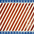 Patriotic Stars And Stripes Background With Grunge Royalty Free Stock Photography - 31390907