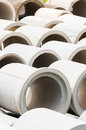 Cement Pipe Royalty Free Stock Photo - 31404285