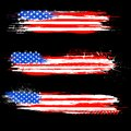 Grungy American Flag Banner Stock Photos - 31404793