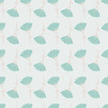 Seamless Floral Pattern With Geometric Stylized Flowers. Stock Image - 31407431
