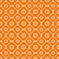Seamless Floral Pattern With Geometric Stylized Flowers. Stock Image - 31407451