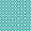 Seamless Floral Pattern With Geometric Stylized Flowers. Royalty Free Stock Photos - 31407458