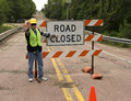 Road Closed Royalty Free Stock Image - 31438456