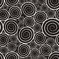 Pattern With Spirals Stock Images - 31446274
