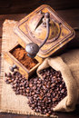 Old Coffee Mill Royalty Free Stock Photography - 31446397