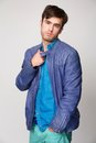 Fashionable Young Man With Colorful Clothing Royalty Free Stock Photos - 31449318