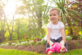 Girl Playing With Doll Royalty Free Stock Image - 31450866