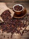Roasted Coffee Beans Royalty Free Stock Images - 31455429