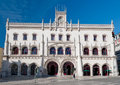 Rossio Railway Station In Lisbon Royalty Free Stock Photography - 31465997