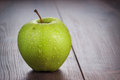 Fresh Green Apple On The Table Royalty Free Stock Photos - 31483518