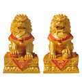 Golden Lion Statue Royalty Free Stock Images - 31486579