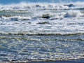 Waves Breaking And Rolling On Beach Background Royalty Free Stock Photography - 31496137
