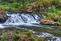 Beautiful River Waterfall In HDR High Dynamic Range Stock Photography - 31499042