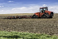 Farm With Tractor Royalty Free Stock Photos - 31503538