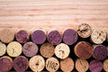 Background Of Various Used Wine Corks Close Up Royalty Free Stock Images - 31507899