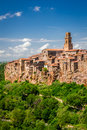 Pitigliano City On The Cliff Royalty Free Stock Image - 31514446