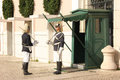 Changing The Guard. Presidential Palace. Lisbon. Portugal Royalty Free Stock Photo - 31517745