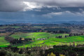 Stormy Weather Landscape With Beautiful Light Stock Images - 31523514