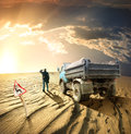 Man And A Truck Stock Photography - 31523852