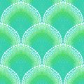 Bold Pattern In Art Deco Style In Aqua Blue Royalty Free Stock Photography - 31534837