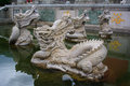 The Buddhist Mystical Dragons In Chongshen Monastery. Royalty Free Stock Photography - 31540277