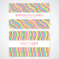 Colorful Gift Card / Discount Card / Business Card Royalty Free Stock Image - 31550776