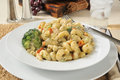 Chicken With Cheesy Basil Parmesan Sauce Stock Images - 31554804