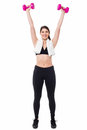 Fitness Trainer Working Out Royalty Free Stock Photos - 31555638