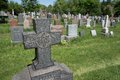 Cemetary Stone Cross Royalty Free Stock Image - 31597606