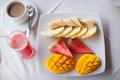Healthy Breakfast On The Table Close Up In Royalty Free Stock Photos - 31612288