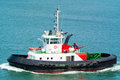 Tugboat In Harbour Royalty Free Stock Photo - 31614155