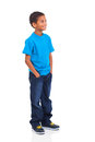 Boy Looking Up Stock Images - 31622554