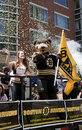 BOSTON, MA, USA - JUNE 18: The Boston Bruins Parade Through Boston After Winning The Stanley Cup For The First Time In 39 Years, J Royalty Free Stock Photo - 31626355