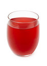 Red Berry Juice In Glass Stock Photography - 31633122