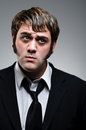 Young Caucasian Man WIth Pouting Face Royalty Free Stock Images - 31645789