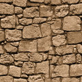 Large Rough Natural Stone Wall - Seamless Texture For Design Royalty Free Stock Images - 31647699